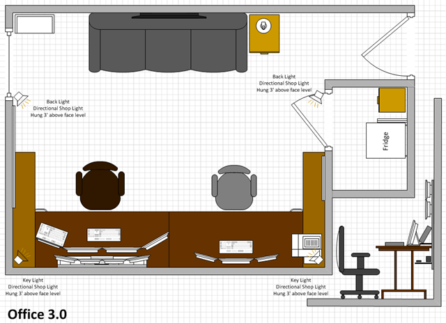 wallmounted computer desk plans