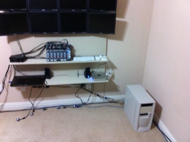keyboard desk plans